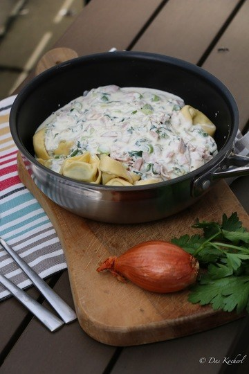 Rezept Tessiner Sösschen mit Tortellini