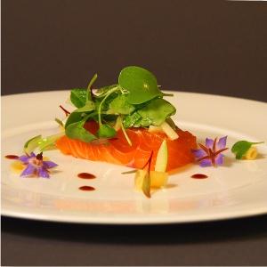 Rezept Thai-Basilikum gebeizter Lachs