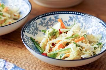 Rezept Thai Coleslaw mit Kohlrabi