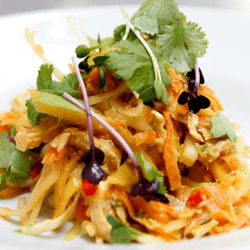 Rezept Thai-Hühnchensalat