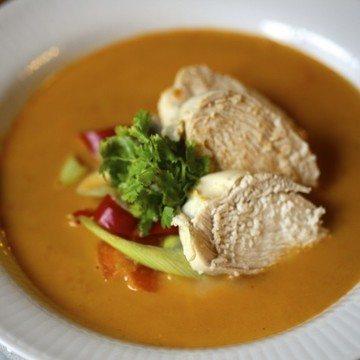 Rezept Thai Hühnersuppe mit Kokosmilch