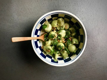 Rezept Thai Melonensalat