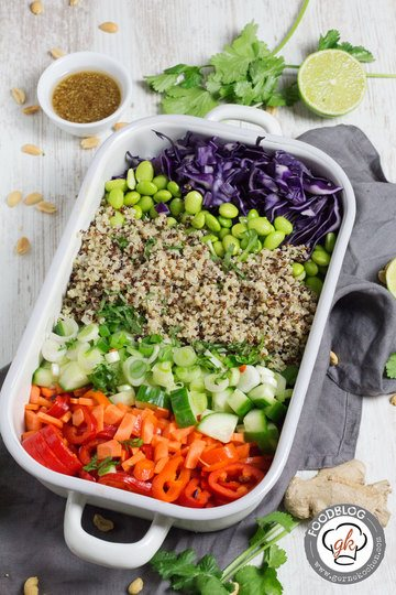 Rezept Thai Quinoa Salat