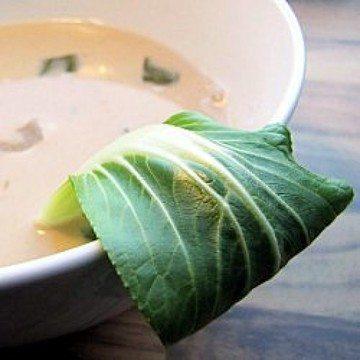 Rezept Thailändisch angehauchte Garnelensuppe mit Kokosmilch