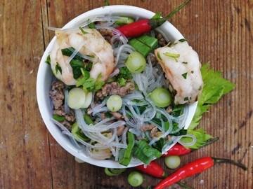 Rezept Thailändischer Glasnudelsalat