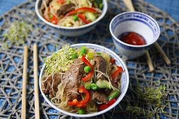 Rezept Thailändischer Rindfleischsalat