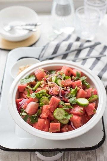 Rezept Thailändischer Wassermelonen-Salat