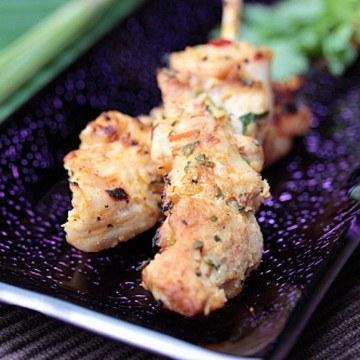 Rezept Thailändisches Hähnchen-Saté