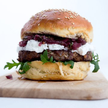 Rezept The Giant Goat Burger