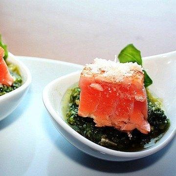 Rezept Thunfisch auf Pestolöffel