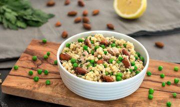 Rezept Thunfisch-Couscous-Salat mit Mandeln