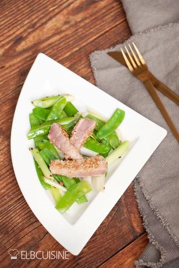 Rezept Thunfisch nach Jamie Oliver mit Sesamkruste – genial einfach!