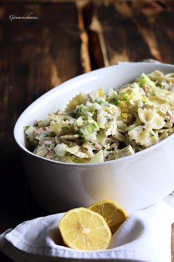 Rezept Thunfisch-Pasta-Salat