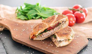 Rezept Thunfisch-Sandwiches mit Spinat