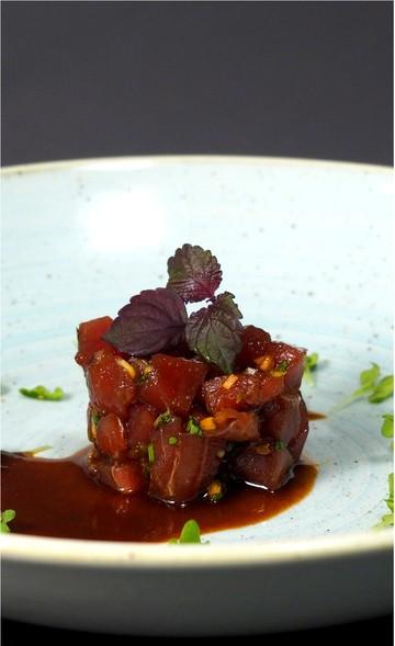 Rezept Thunfisch-Tartar, asiatisch mariniert