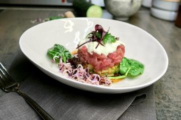 Rezept Thunfisch Tatar mit Gurke & Wasabicreme