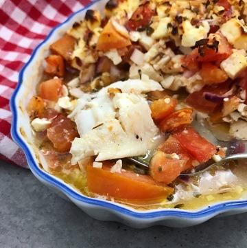 Rezept Tilapia mit Tomaten-Feta-Haube