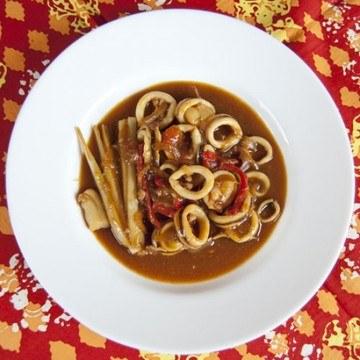 Rezept Tintenfischringe Süß Sauer