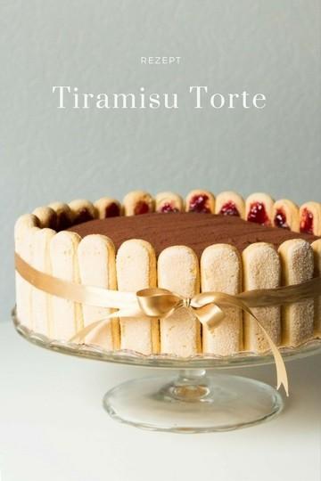 Rezept TIRAMISU TORTE