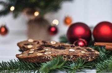 Rezept Tiroler Zelten - weihnachtliches Früchtebrot