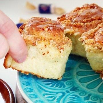 Rezept Toffee Almond Buns