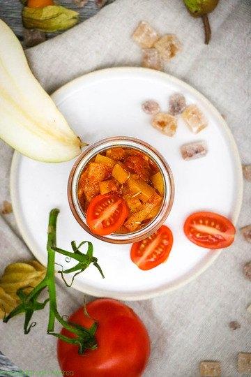 Rezept Tomaten-Birnen-Chutney selber machen