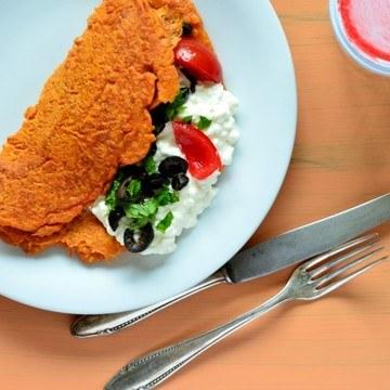 Rezept Tomaten-Bulgur-Pfannkuchen