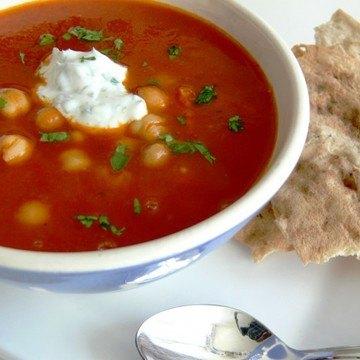 Rezept Tomaten-Kichererbsensuppe mit Salsiccia