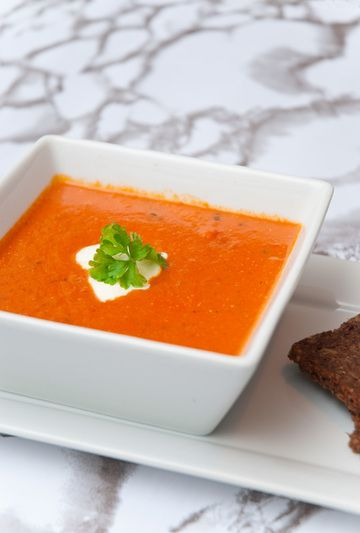 Rezept Tomaten-Kokos-Suppe