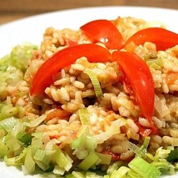 Rezept Tomaten-Lauch-Risotto