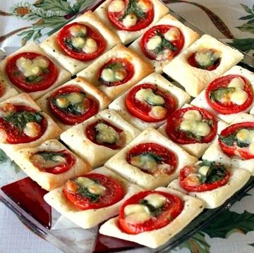 Rezept Tomaten Quadrate