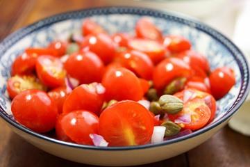 Rezept Tomaten-Salat mit Kapern