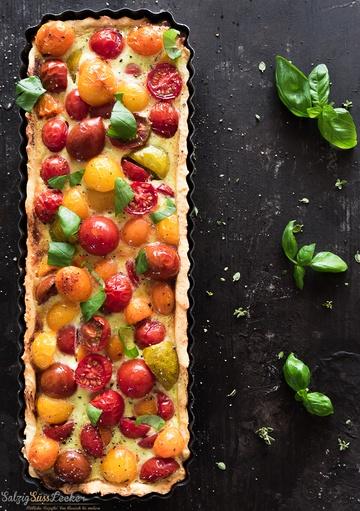 Rezept Tomaten-Tarte