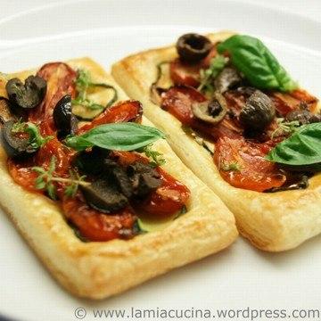 Rezept Tomaten-Zucchini-Tartelettes