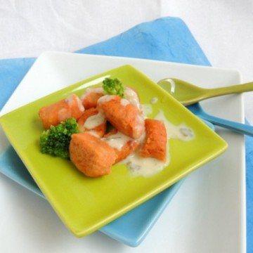 Rezept Tomatengnocchi mit Gorgonzolasauce