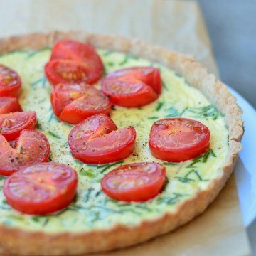 Rezept Tomatenquiche
