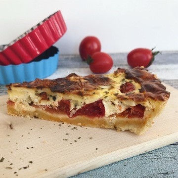 Rezept Tomatentarte mit Camembert