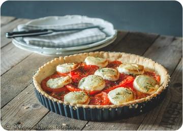 Rezept Tomatentarte mit Ziegenkäse