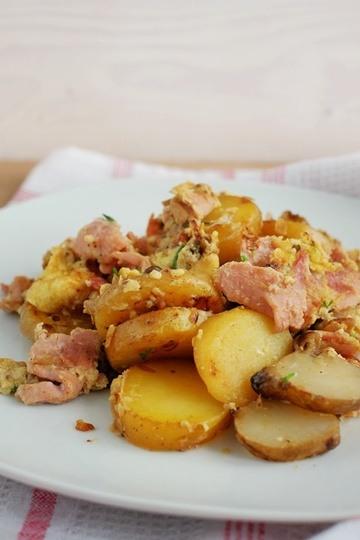 Rezept Topinambur-Kartoffel-Gröstl