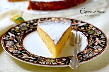 Rezept Torta Caprese al limone e cioccolato bianco