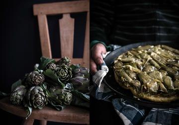 Rezept Torta di Carciofi - Artischockentarte mit Robiola und Parmaschinken
