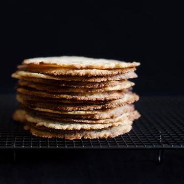 Rezept Tortas de aceite mit Anis & Sesam und Orange & rotem Pfeffer