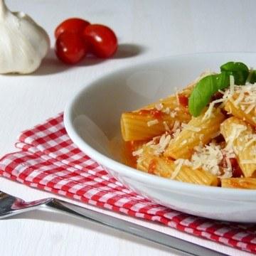 Rezept Tortiglioni al pomodoro