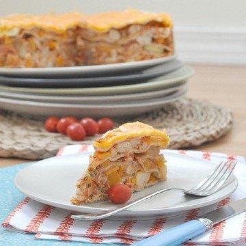 Rezept Tortilla Kuchen