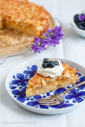 Rezept Toscakaka – schwedischer Mandel-Karamell-Kuchen