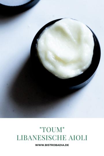 Rezept Toum: Libanesisches Aioli