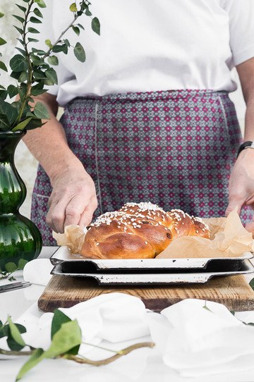 Rezept Traditioneller Brioche Striezel