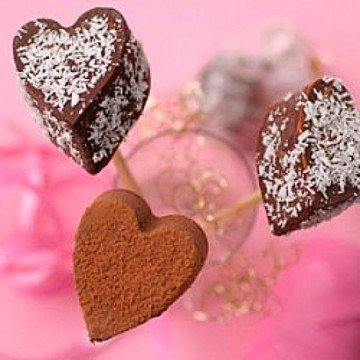 Rezept Trinkschokolade am Stiel