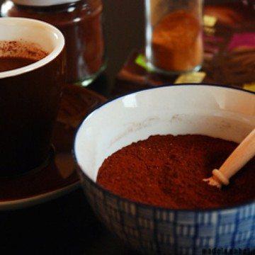 Rezept Trinkschokolade-Pulver