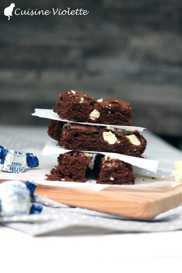 Rezept Triple-Chocolate-Brownies